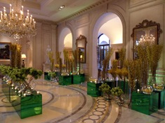 Four Seasons George V Paris - Jeff Leatham - Lobby Verde