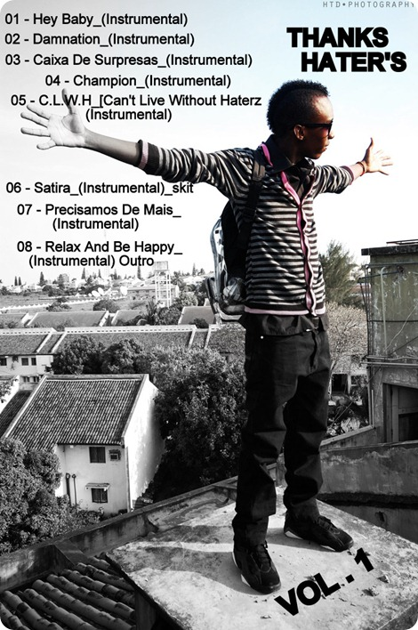 Thanks Hater's Vol.1 - (Back Cover) Large
