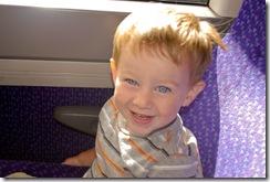 eli on train