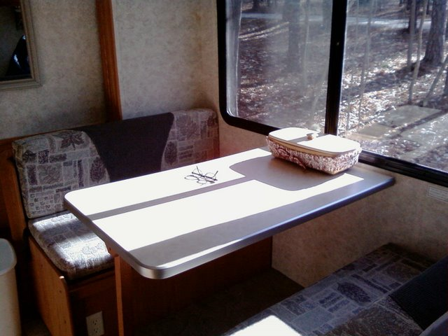 Rv Net Open Roads Forum Class C Motorhomes Table Caddy