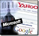 Yahoo Microsoft Google Battle