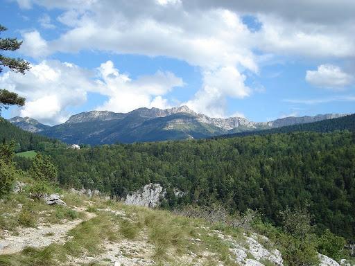 topo rando vercors, Méaudret Gorges de la Bourne
