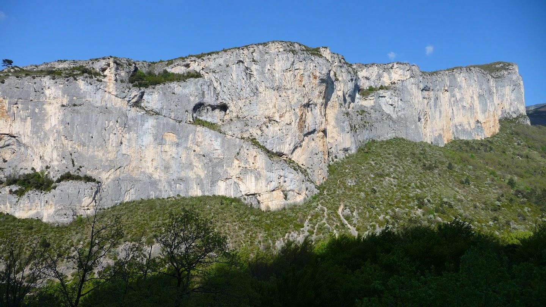 topo Escalade, Grimpe, Omblèze, Vercors falaise d'anse