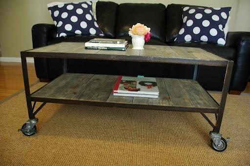 Bon French Industrial Era Coffee Table / Cart $345 Http://vintageaz.blogspot.