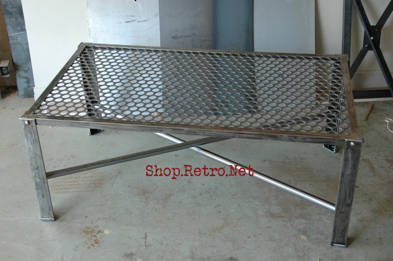 Industrial Metal Coffee Table251 Jpg