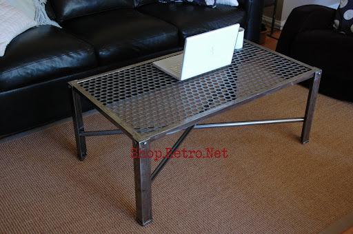 Industrial Metal Coffee Table260