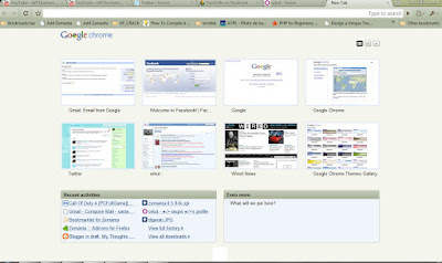 themes for google chrome my thoughts
