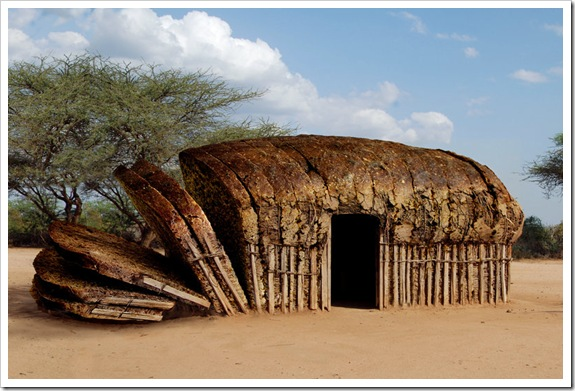 African_Bread_Hut_by_Onanymous