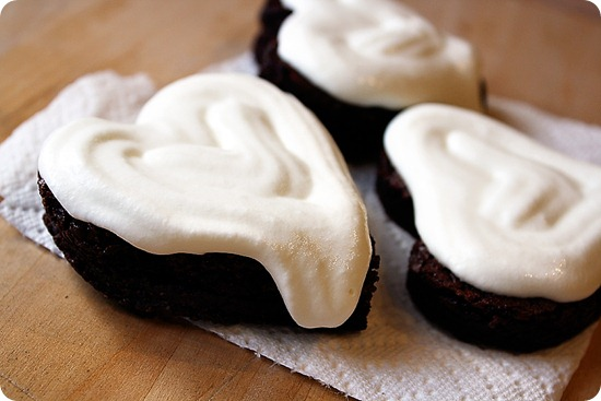 Whipped Cream Brownies