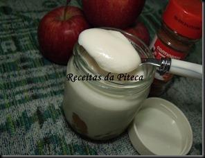 Iogurtes de maçã e canela 2