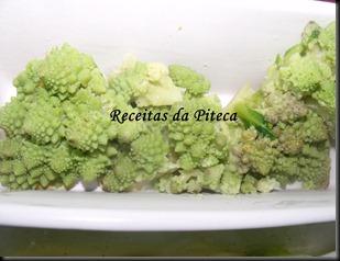 Bróculos romanescos cozidos