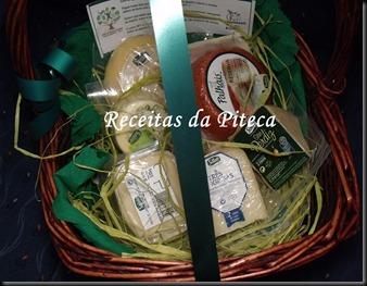Cestinho de queijos da Saloio