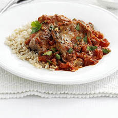 Lamb Steaks With Spiced Tomato Sauce