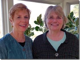 Sarah Wilde and Claudia Van Nes