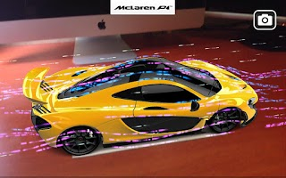 Screenshot of McLaren P1