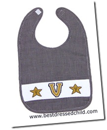 vandy smocked bib