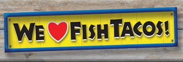WeLoveFishTacos!WoodenSign