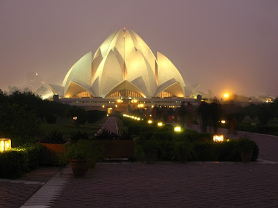 Bahá'í House of Worship, Lotus Temple, Delhi, India