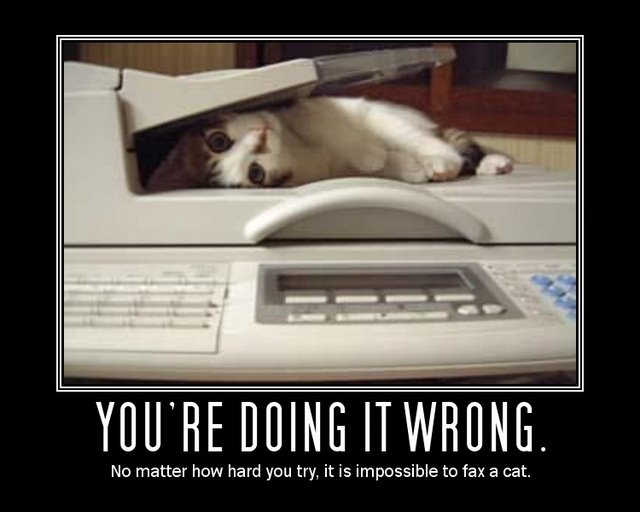 you are doing it wrong motivational poster