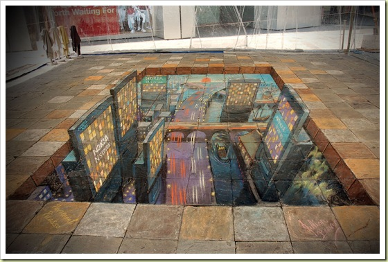 10-amazing-3d-sidewalk-art-nokia-city2