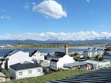 Vue de l'hostel, Ushuaia