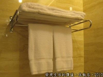 備用毛巾及浴巾