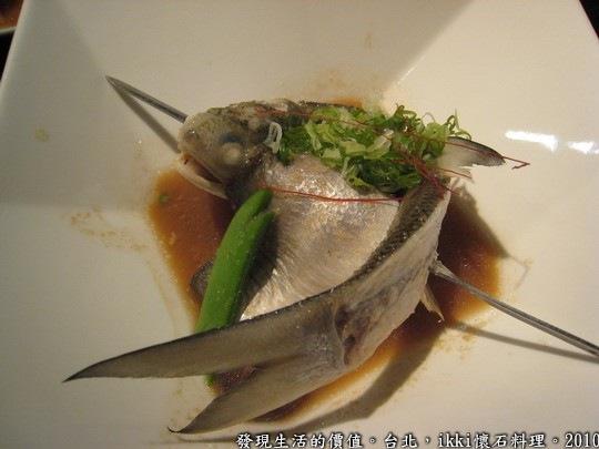 ikki懷石創意料理餐廳,蒜香季節鮮魚(伍魚)