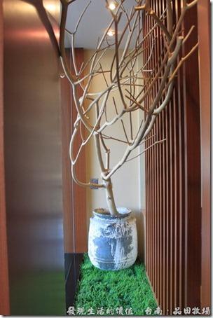 台南品田牧場,枯樹枝裝飾