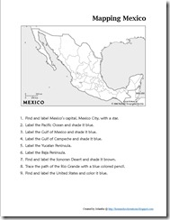 Off We Go to Mexico ~ Unit Study & Lesson Plans