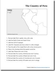 Mapping Peru