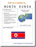 Tots on a Mission North Korea