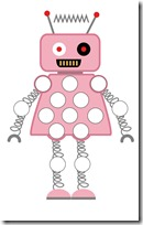Robot Preschool Pack Part 2 do a dot