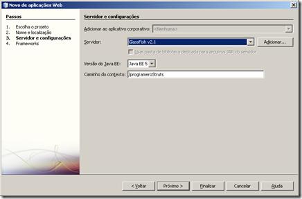 configurando glassfish netbeans