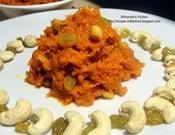 Gajar halwa Recipe (Carrot halva)