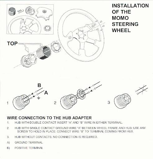 MOMO Steering Wheel Hub Adapter VOLVO 760 850 960 780
