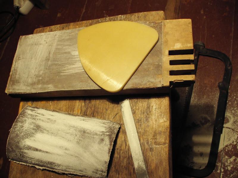 Step 3: Making the plastic base