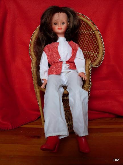 Poupées Mannequins, Mini Pour Cathie De Bella Combinaison Présentation 1981