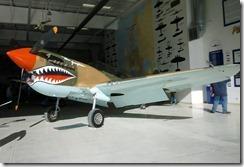 P-40 Hawk  pursuit fighter