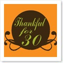 Thankfulfor30