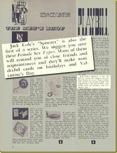 Playboy cartoon Jack Cole June 1954 e