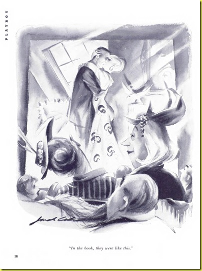 Playboy cartoon Jack Cole Nov1954
