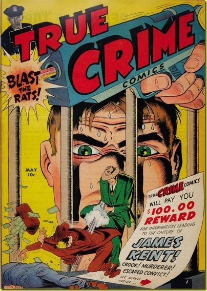 True Crime Comics 2 cover Jack Cole 1946