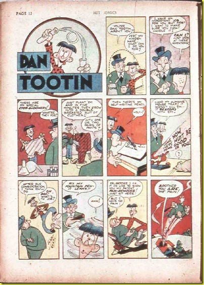 Dan Tootin Hit 19 Jan 42