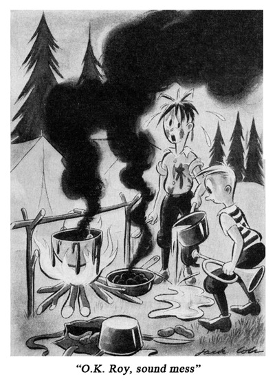 Jack Cole Cartoon Boys Life 1939 Nov