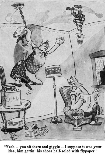 Jack Cole Cartoon Boys Life 1938 Jan.2