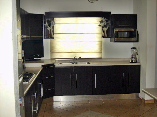 Cocina en PVC color Ebano ~ Cocinas Cobián