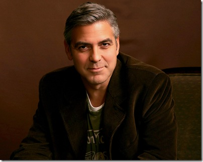 George Clooney 1280x1024 Widescreen Wallpaper