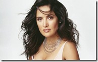 Salma Hayek desktop widescreen wallpaper