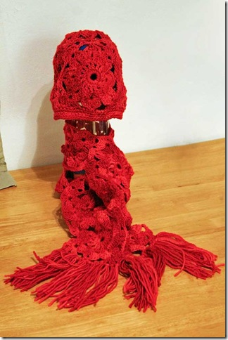 Red-Hat-Scarf-Set