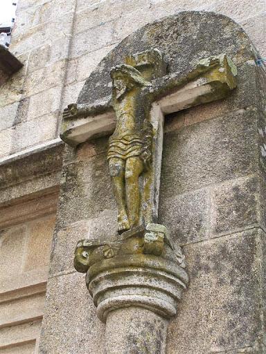 Cruceiro do adro da igrexa de Lavadores